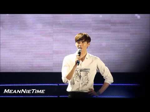 141101 Lee Jong Suk singing