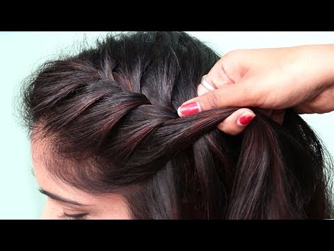 Beautiful Twisted Braid Hairstyle For Girls | Hairstyles For Log Hair | Hair Style Girl