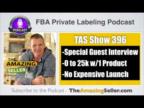 How Toni Went From Zero To $25K With 1 Product & NO Expensive Launch -TAS 396: – The Amazing Seller
