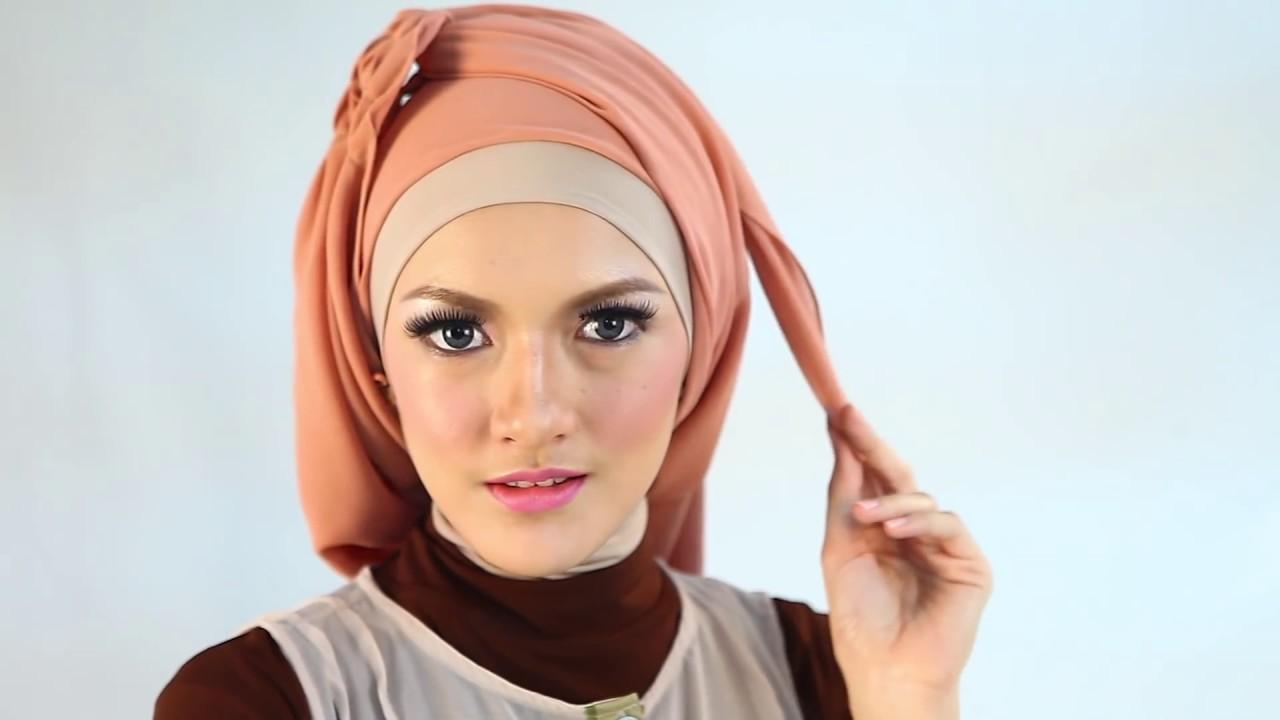 HIJAB TUTORIAL Kreasi Hijab Nova Part 2 YouTube