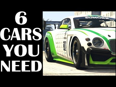 GTA 5 - 6 Cars You Need To Buy In GTA Online