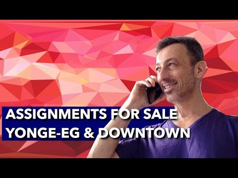 Toronto Condo Assignments For Sale  Young Eglinton Downtown  Toronto Condo Assignment