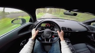 POV Drive: 2016 Audi R8 V10 Plus