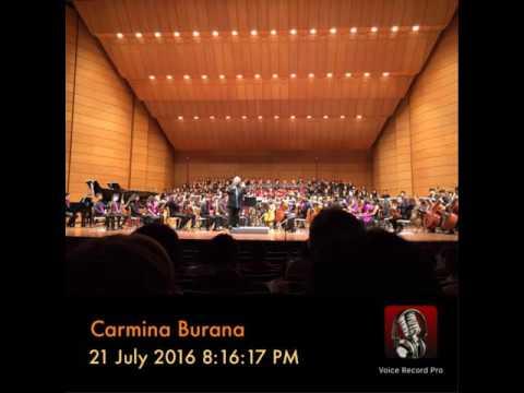 Carmina Burana @ Thailand Cultural Centre (July 21, 2016)