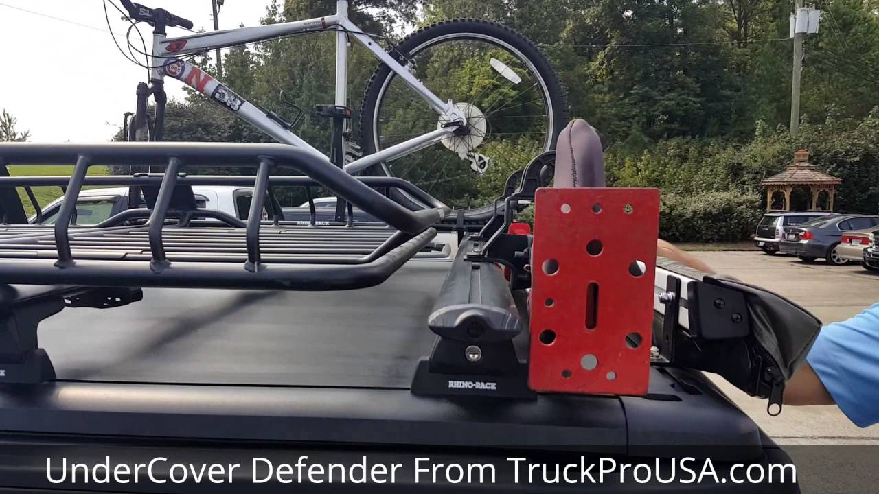 Undercover Defender Tonneau Cover Walk Around With Truckprousa