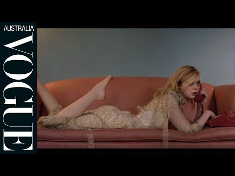 Watch: Prank calls with Elle Fanning for Vogue Australia March 2016