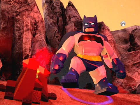 LEGO BATMAN 3 - Batman Dark Knight Returns FREE ROAM GAMEPLAY