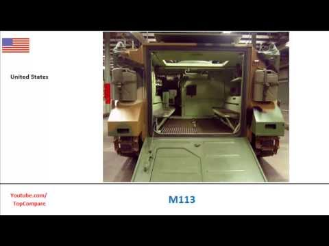 M113, Armoured personnel carrier