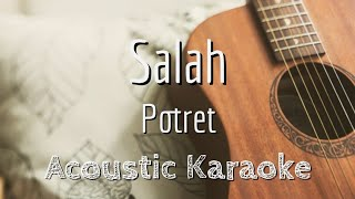 Download Mp3 Salah - Potret - Acoustic Karaoke