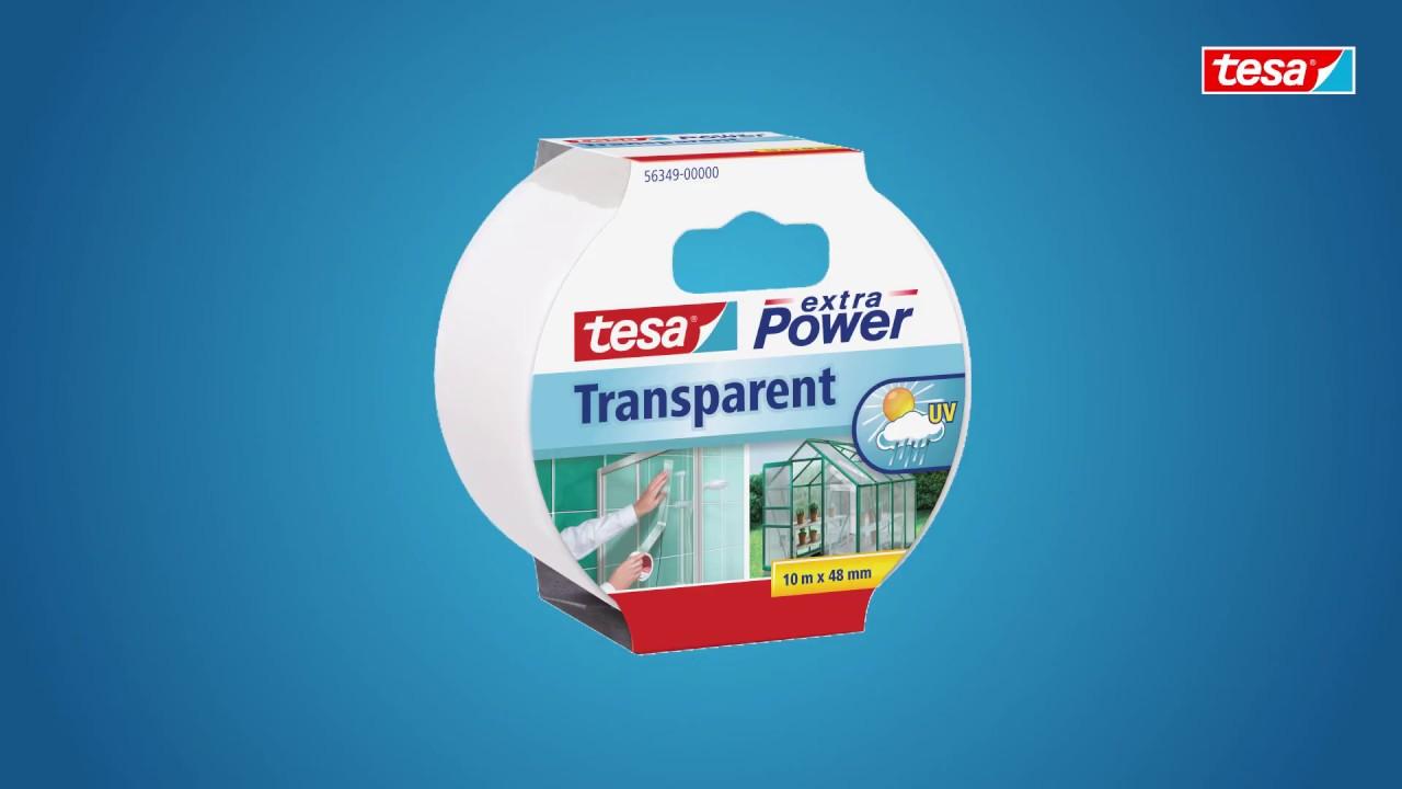 Gut bekannt tesa extra Power® Transparent - YouTube ZC33