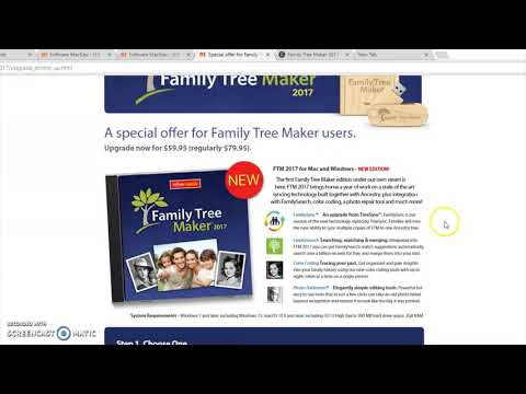 Family Tree Maker 2017 Review / Trouble Shooting