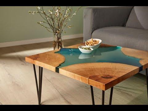 Epoxidharz-Tisch DIY