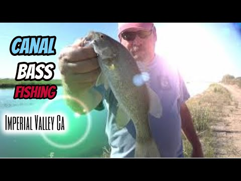 Imperial Valley Canal Bass Fishing