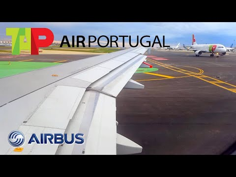 TAP Air Portugal | Airbus A319 | Lisbon ✈ Porto | Pushback, Taxi and Take Off
