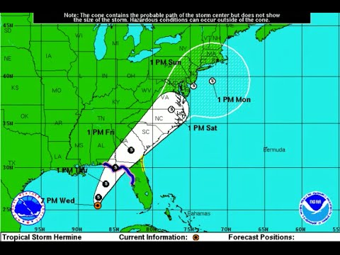 Tracking Tropical Storm Hermine