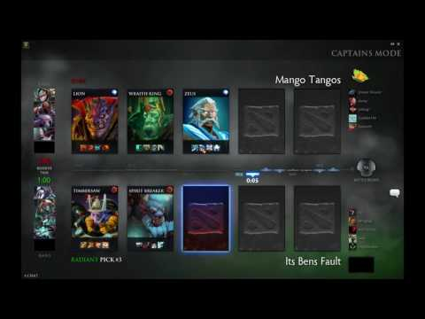 WLDL: Mango Tangos vs. Saints and Sinners Dota 2 VOD