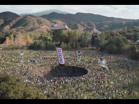 Snickers Super Bowl Commercial 2020 Luis Guzman Fix The World