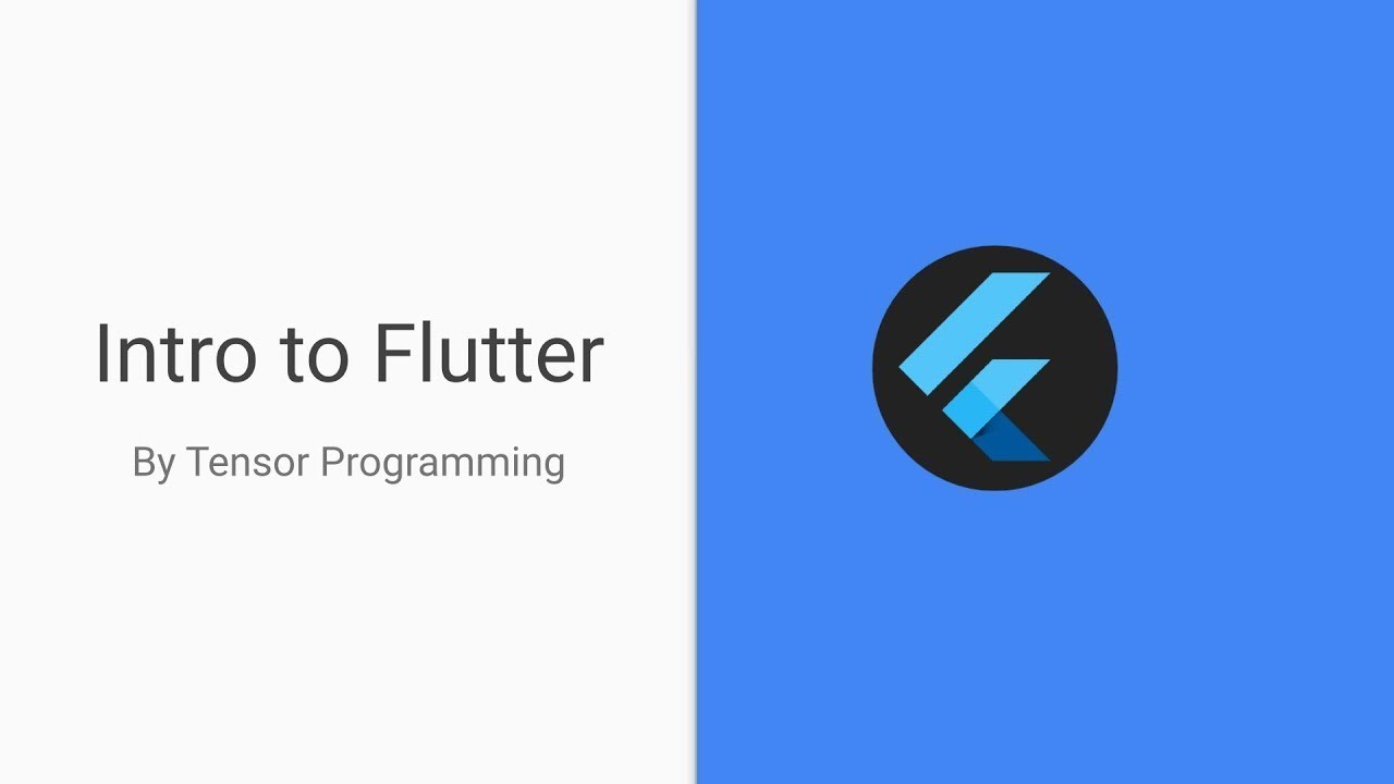 Intro to Flutter - Stateful and Stateless Widgets, Widget Tree - Part One