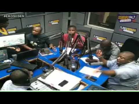 Accra : Trading Of Insults On Live Radio, Nana B Slaps Sammy Gyamfi