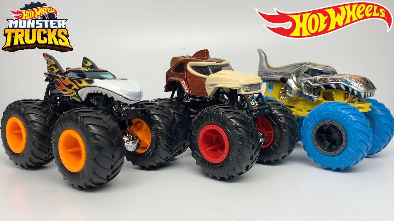 Hot Wheels Monster Trucks Case D 2020 Youtube