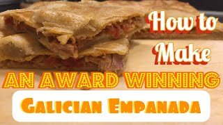 How to make an AWARD WINNING Galician Tuna Empanada, spanish fish pies, Spanish tapas, Tuna dishes screenshot 4