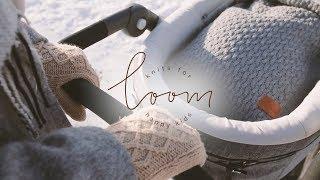 Вязаные конверты Loom.Зимняя прогулка по набережной