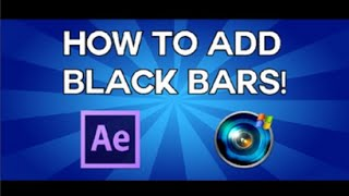 How To Add Black Bars In Sony Vegas.