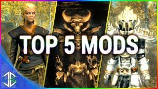 Top 5 Console Mods 7- Armour Mods - Skyrim Special Edition (XBOX/PC)