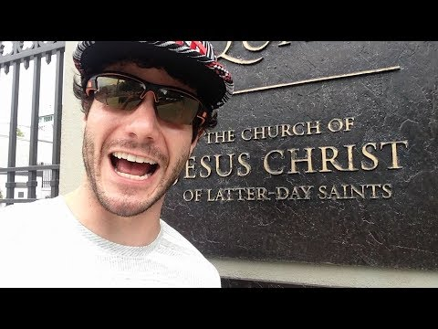 Overly Excited Tourist Finds Religion In Salt Lake City