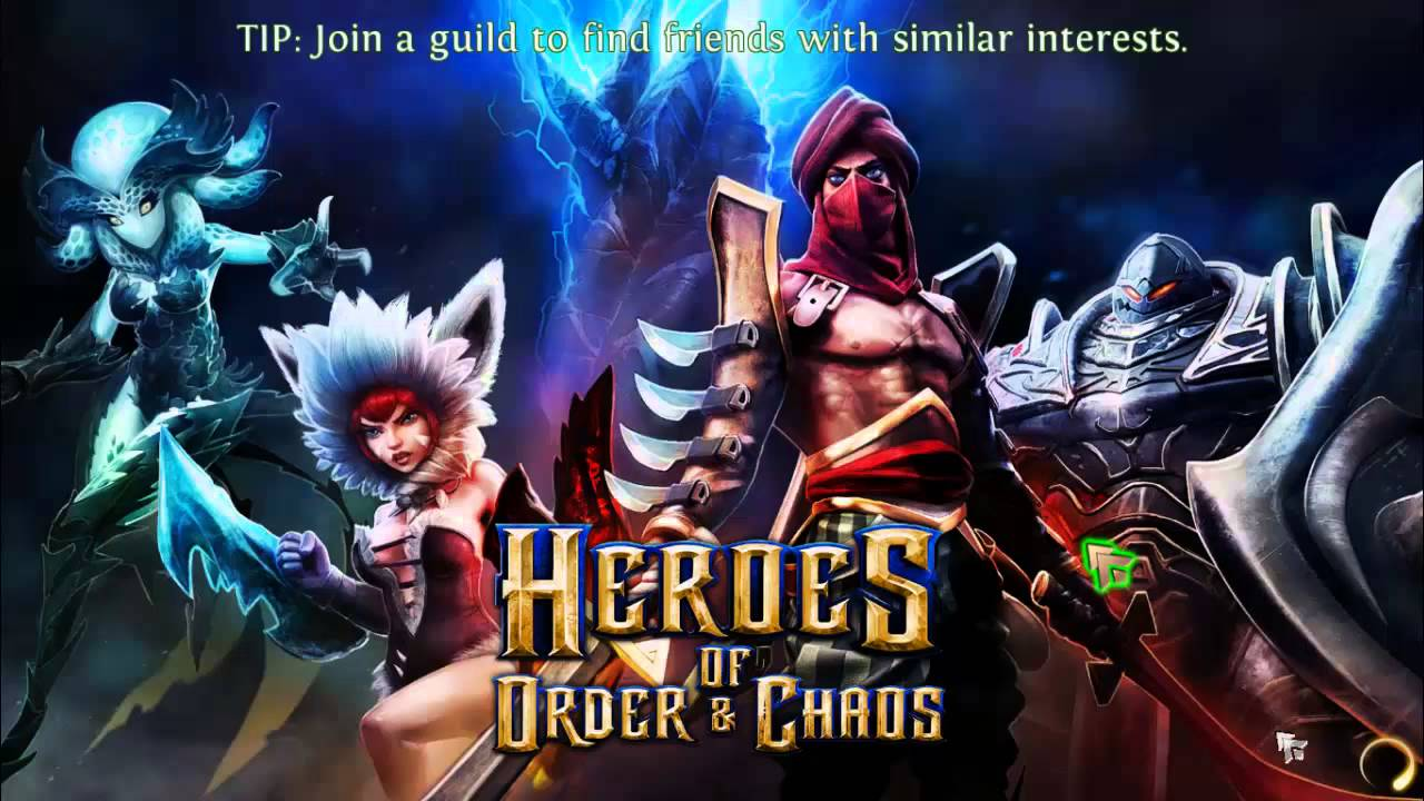 Heroes of Order & Chaos - Multiplayer Online Game - DownloadVN
