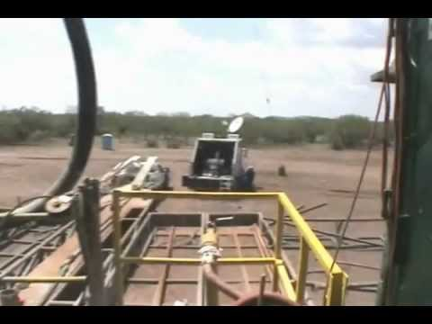 North American Drilling Corporation: Bynum Well # 3 Drilling Video