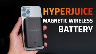 Trên tay Pin di động sạc MagSafe cho iPhone 12: Hyper Juice