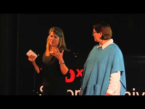 The motherhood effect: Cooper Munroe & Emily McKhann at TEDxSetonHillUniversity