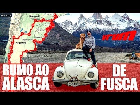 DO BRASIL AO ALASCA DE FUSCA 1978 / Vrum Brasília