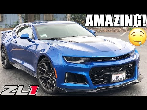 THE NEW CAMARO ZL1 REVIEW FROM A HELLCAT OWNERS PERSPECTIVE 😈