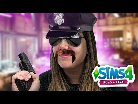 VIREI UMA POLICIAL DE NOVELA - The Sims 4 Rumo a Fama