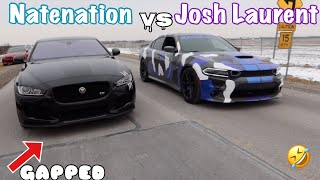 I RACED A SUPERCHARGED JAGUAR *THIS HAPPENED* 😱