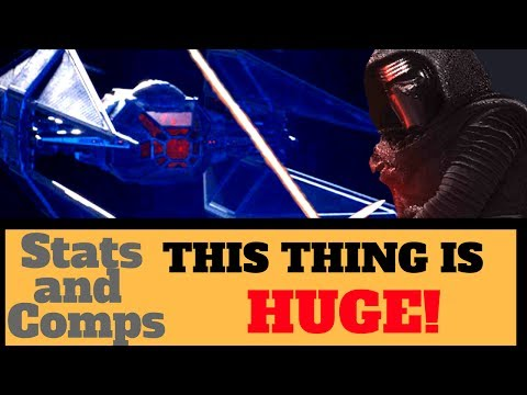 TIE SILENCER - Kylo Ren's MASSIVE TIE-Fighter Star Wars Last Jedi News