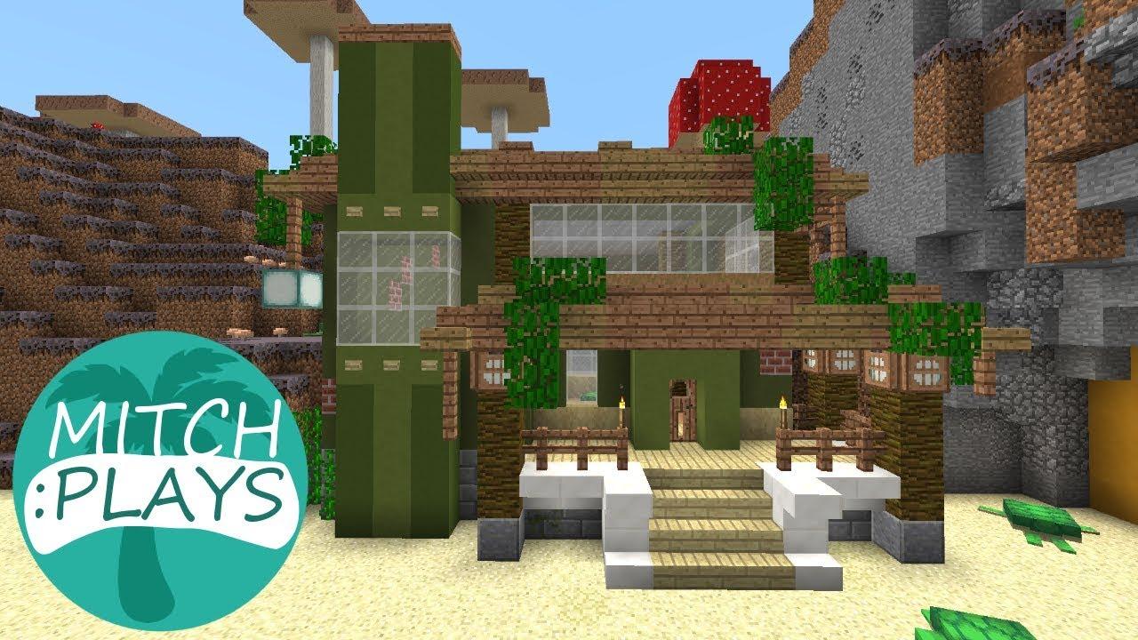 Beach House Idea Mitch Plays Minecraft 113 Ep 377