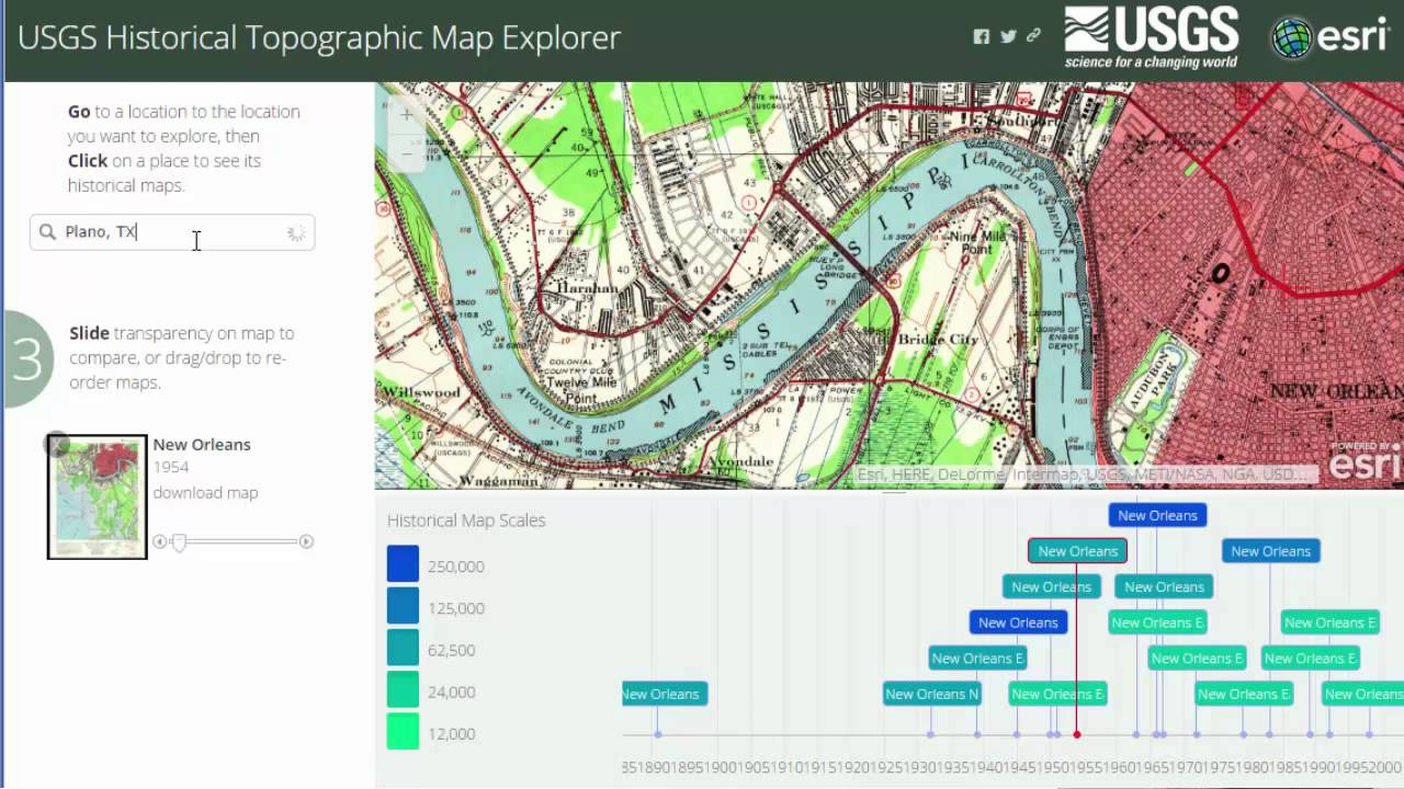 The Historical USGS Topographic Maps Explorer In ArcGIS Online YouTube - Usgs topographic maps online