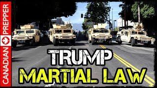 Trump Threatens Martial Law Amidst Apocalyptic Looting