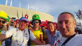 Шахтинский репортаж - Бразилия 1:1 Швейцария - Погарченко - 4K Ultra HD Video
