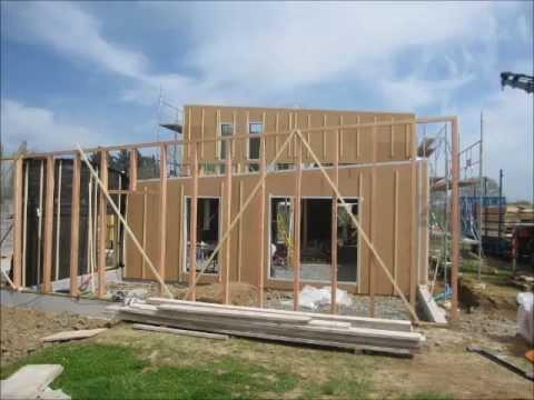 construction en acc l r d 39 une maison passive en bois youtube