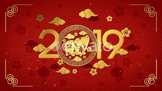 Chinese New Year background Best Motion Graphichs 2019