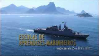 Vídeo de divulgação do Concurso para as Escolas de Aprendizes-Marinheiros EAM 2012