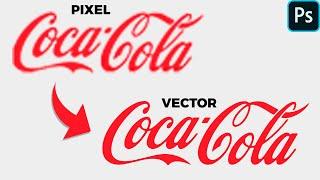 Vectorizar logo photoshop cs6 facil