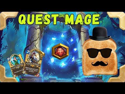 Disguised Toast is going to legend with a Quest mage (Journey to Un'Goro)