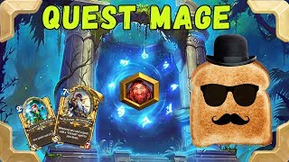 Disguised Toast is going to legend with a Quest mage (Journey to Un