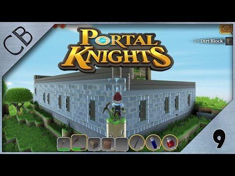 Portal Knights - Main Base Speed Build pt.1 - Ep 9