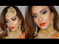 COMPLETE INDIAN BRIDAL MAKEUP